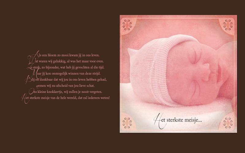 Ontwerp geboortekaartje