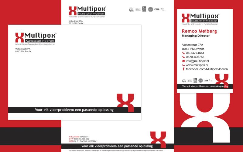 Ontwerp logo's, huisstijlen en correspondentiesets