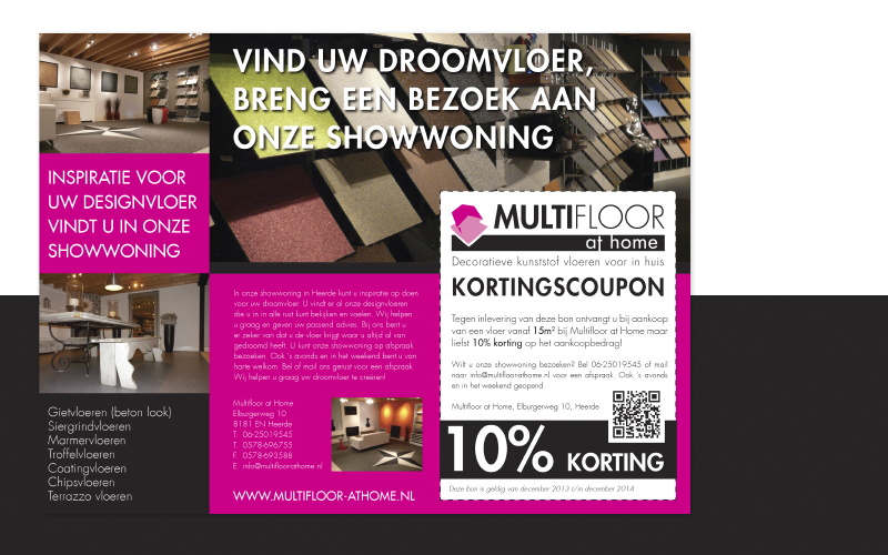 Ontwerp advertenties en banners