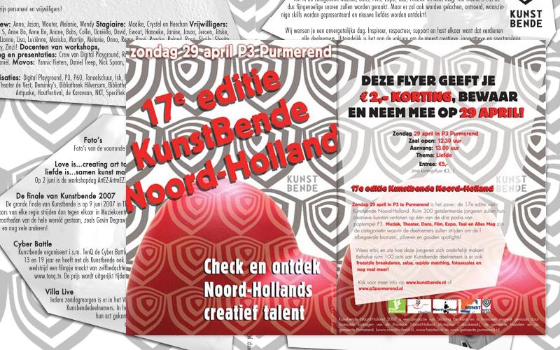 Ontwerp flyer evenement