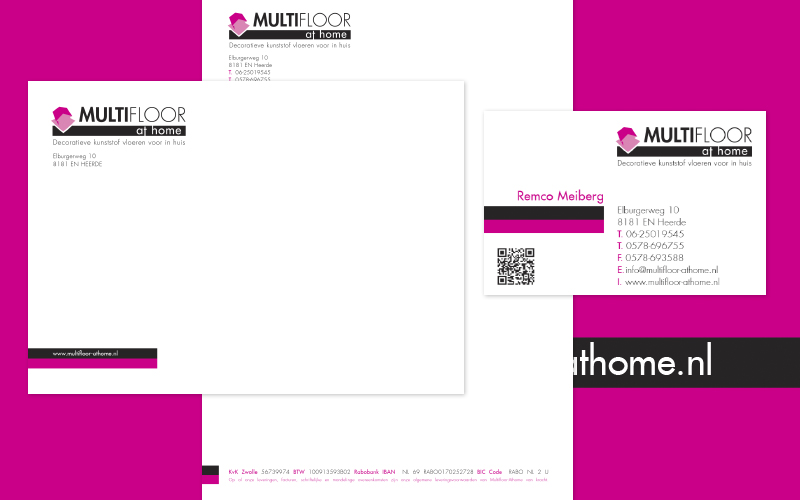 Ontwerp logo's en huisstijlen