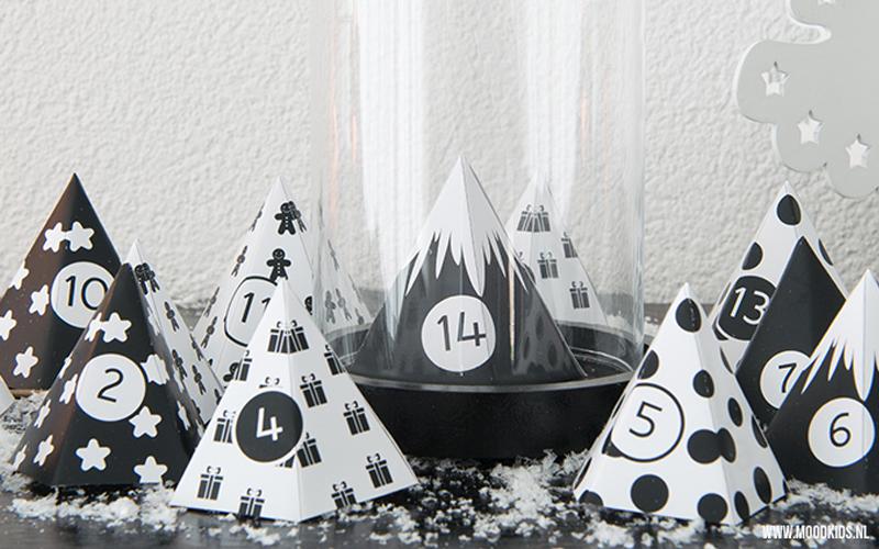 Adventkalender DIY voor Moodkids