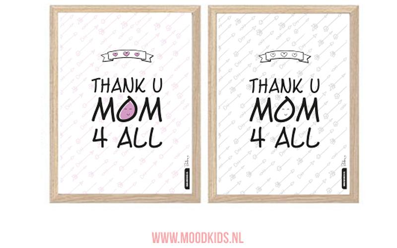Moederdagposters DIY voor Moodkids