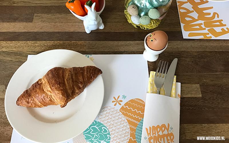 Paas ontbijtset DIY voor Moodkids