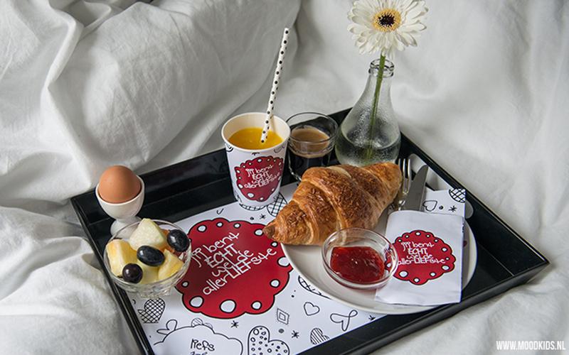 Valentijn ontbijtset DIY voor Moodkids